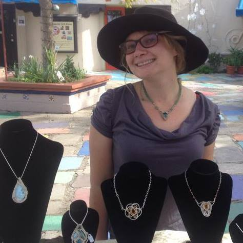 Kellie Roussos Wire Wrap Jewelry Artist